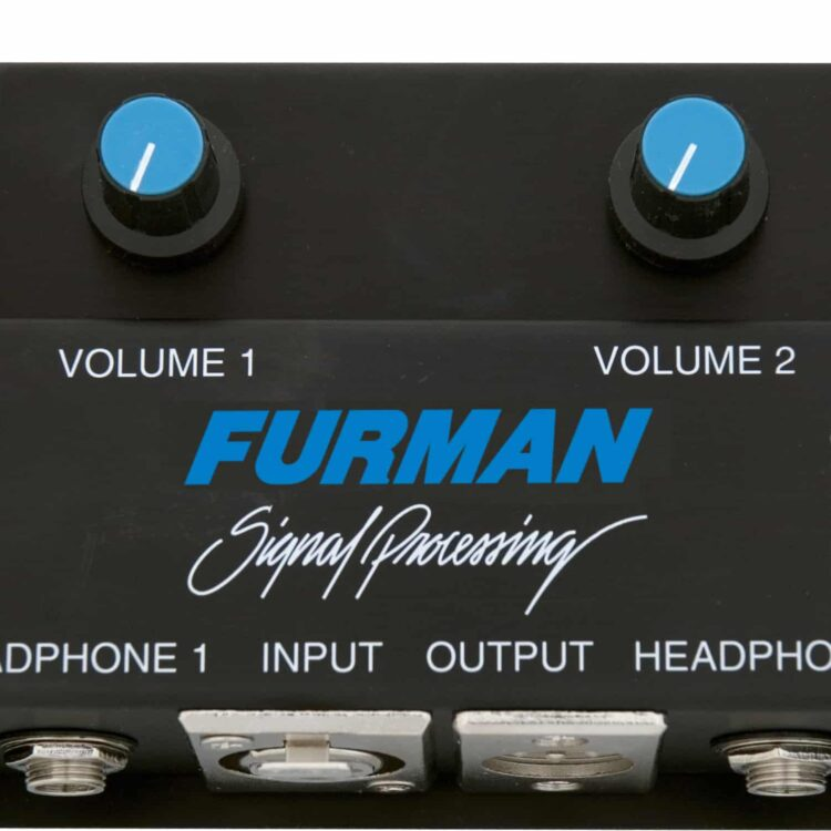 Furman HR-2 HR2 Headphone Remote Station