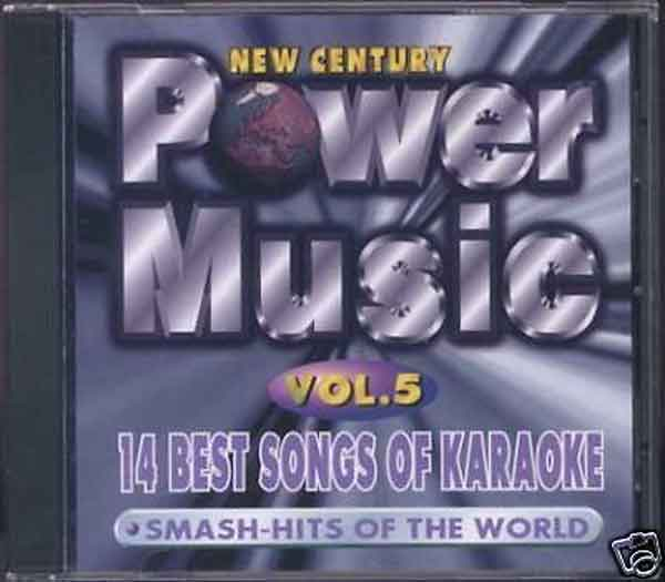 POWERMUSIC PMV005 VOLUME 5 mit 14 PLAYBACKS KARAOKE PLAYBACK VCD VIDEO CD