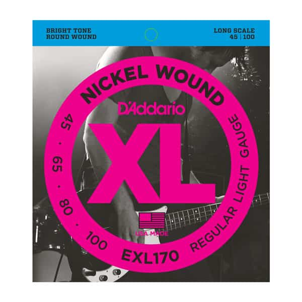 D'Addario EXL170 Soft Nickel Wound E-Bass Saiten