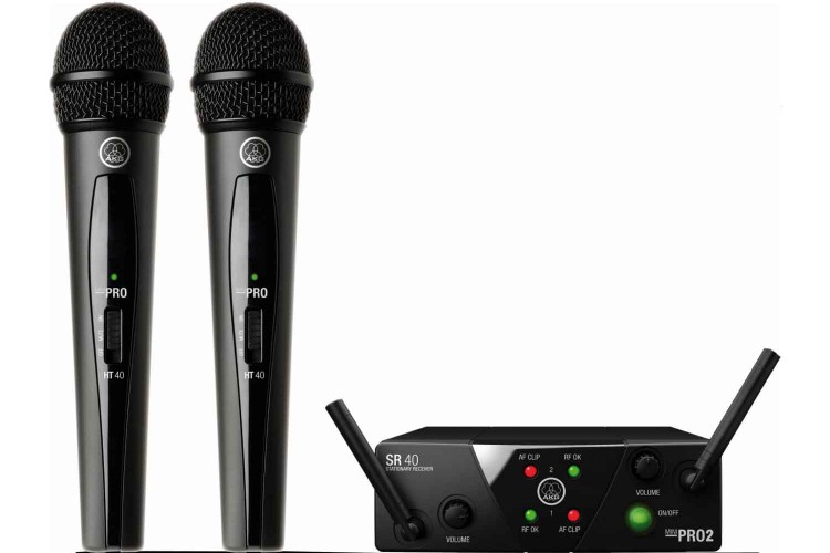 AKG WMS40Mini Dual Vocal Set