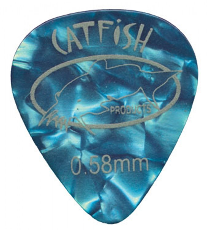 catfish picks pearloid 12er Set Blue