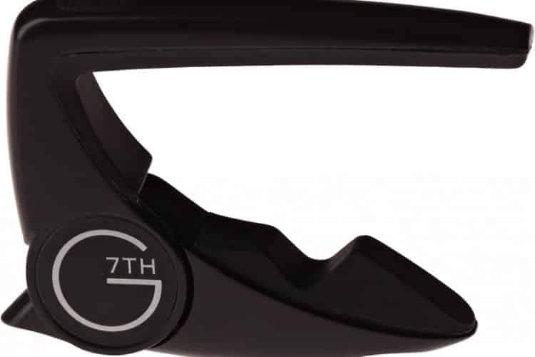 g7th performance 2 capo acoustic schwarz
