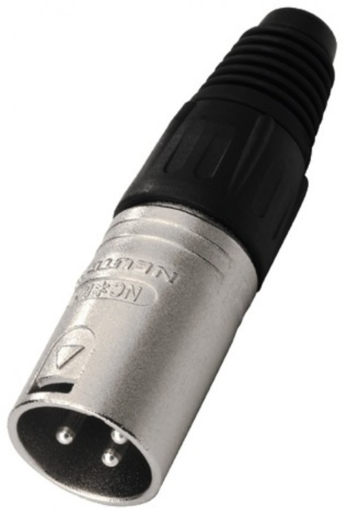 Neutrik NC-3MX XLR-Stecker male 3-pol 344680