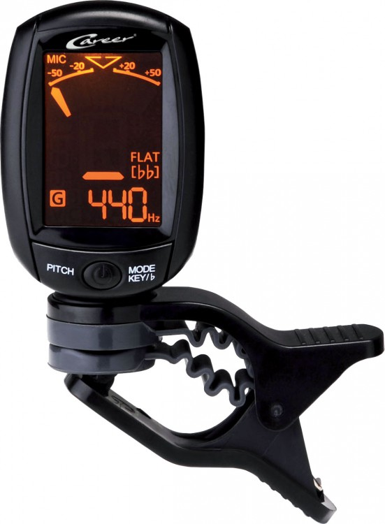 Career A3 A-3 Mini Clip On Tuner Stimmgerät