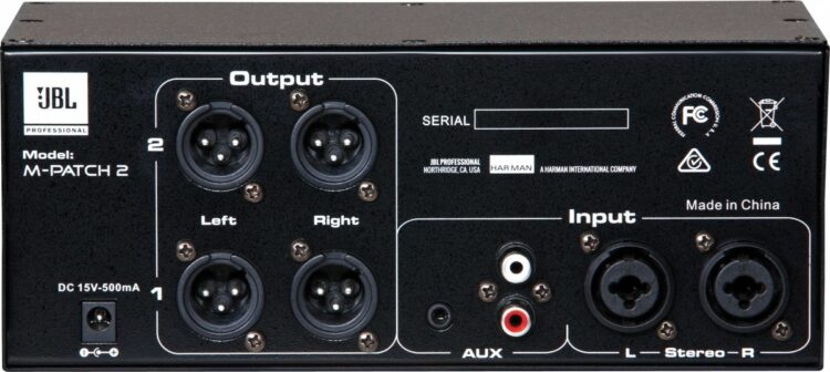 JBL M-Patch2 Monitor Controller