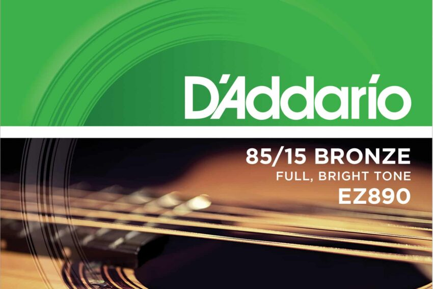 D'Addario EZ890 85/15 Light Bronze Acoustic 009/045
