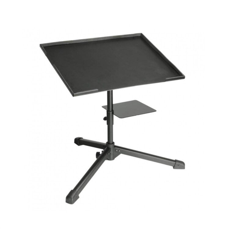 Adam Hall Stands SLT004 Laptopständer schwarz