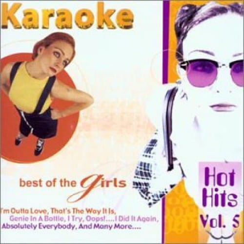 MRA Best Of 2000 - Girls Hothits Volume 5 - Karaoke CD mit 14 Titeln