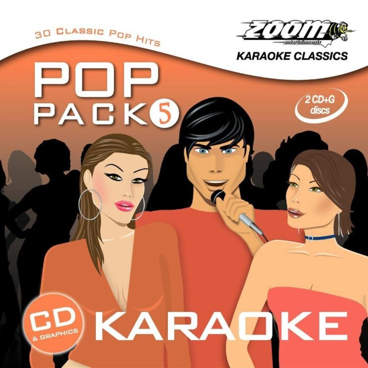 Zoom Entertainments ZPP05 The Pop Pack Series Volume 5 Karaoke CDG