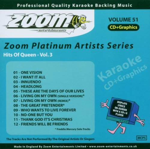 ZPA51 Platinum Artists Series Volume 51 Hits Of Queen Volume 3 mit 12 Titeln