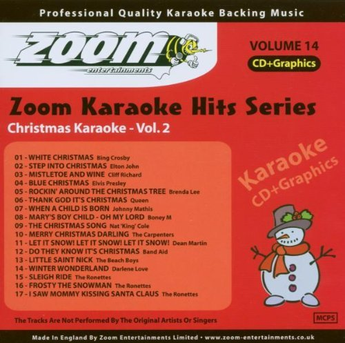 Zoom Karaoke Hits Cdg Christmas Volume 2