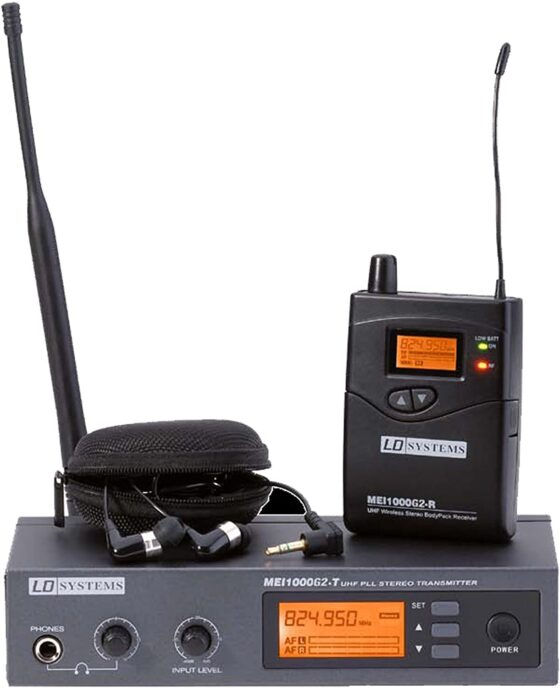LD Systems LDMEI1000G2 MEI 1000 G2 In-Ear Monitoring System drahtlos