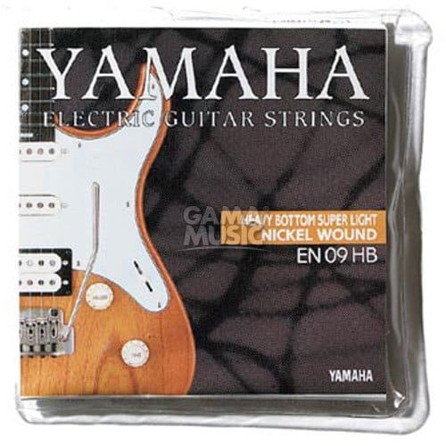 Yamaha EN09HB Saiten Satz Heavy Bottom Super Light