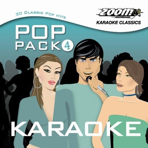 Zoom ZPP04 The Pop Pack Series Volume 4 - Karaoke CDGs mit 30 Titeln